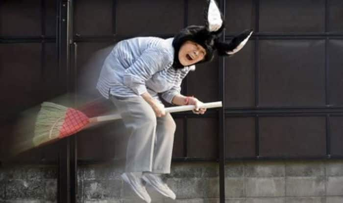 Meet Kimiko Nishimoto, Japan's 89-year-old Photographer Famous For Her Hilarious Self-Portraits