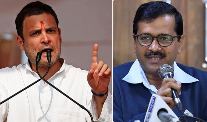 Congress-AAP Alliance in Delhi on Cards For Lok Sabha Elections 2019? Rahul Gandhi Holds Discussion With Party Leaders