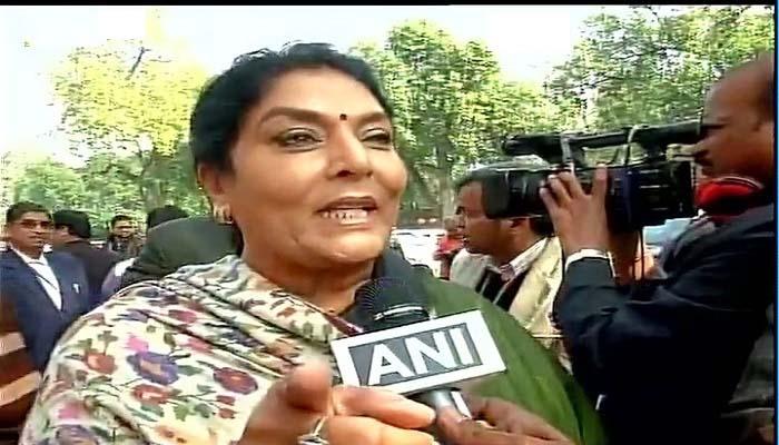 Congress leader Renuka Chowdhary
