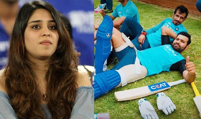 Rohit Sharma's Wife Ritika Sajdeh Gives a Fitting Reply to Yuzvendra Chahal's Cheeky Dig on Instagram Picture