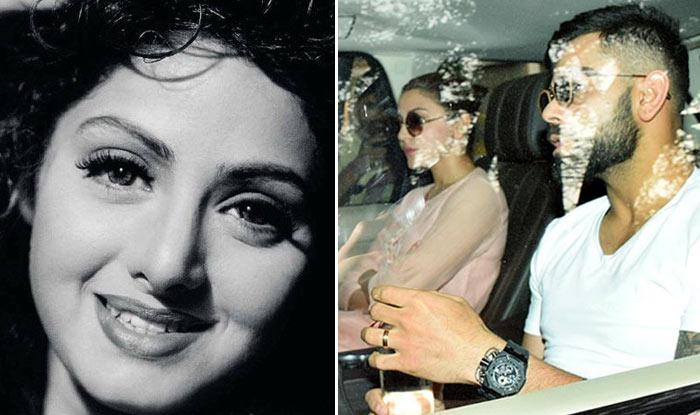 Anushka Sharma, Virat Kohli Pay A Visit To Late Sridevi's Residence To Offer Their Condolences – View Pics
