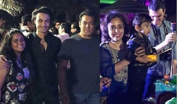 Salman Khan And Family Ring In Ahil Sharma's Second Birthday In Abu Dhabi – View Pics & Videos
