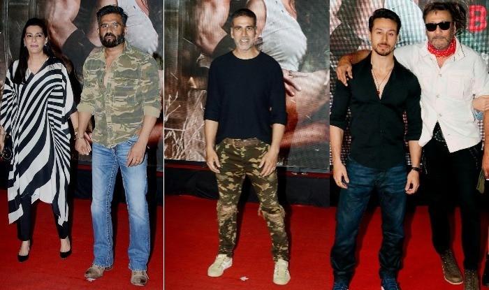 Baaghi 2 Special Screening: Akshay Kumar, Jackie Shroff, Suniel Shetty And More Watch Tiger Shroff – Disha Patani's ActionFlick (VIEW PICS)