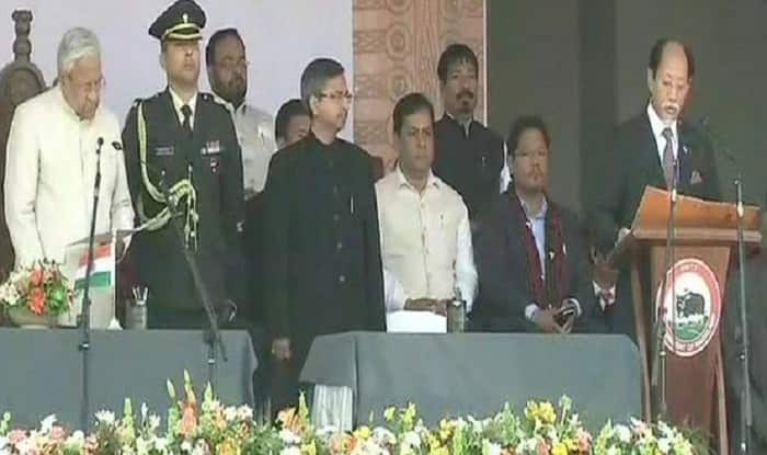 Neiphiu Rio Sworn in as Nagaland Chief Minister, 11 Other Ministers