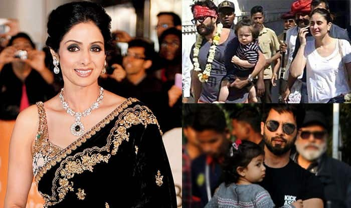 Sridevi Wrapped In Tricolour, Taimur Ali Khan Chills In Rajasthan, Shahid Kapoor – Misha's Adorable Moment At The Aiport Feature In This Week's Viral Pics