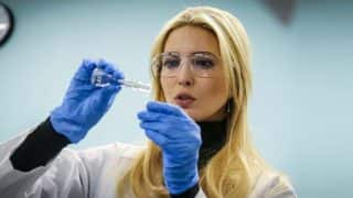 Ivanka Trump's Latest Photo At Science Centre Turns Into A Viral Meme On Twitter