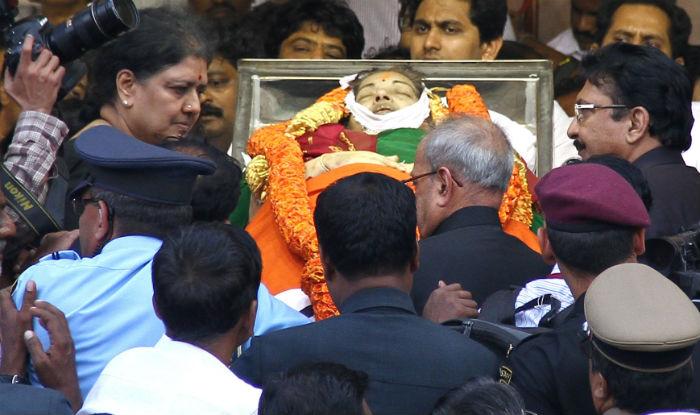 Jayalalithaa Death Case
