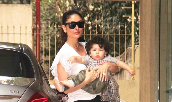 Kareena Kapoor Khan Along With Son Taimur Ali Khan Pose For The Shutterbugs And We're Absolutely Loving It