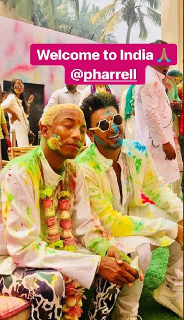 Ranveer Singh - Pharrell Williams