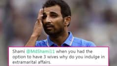 Mohammed Shami Took To Twitter To Deny Cheating and Torture Allegations, Gets Trolled
