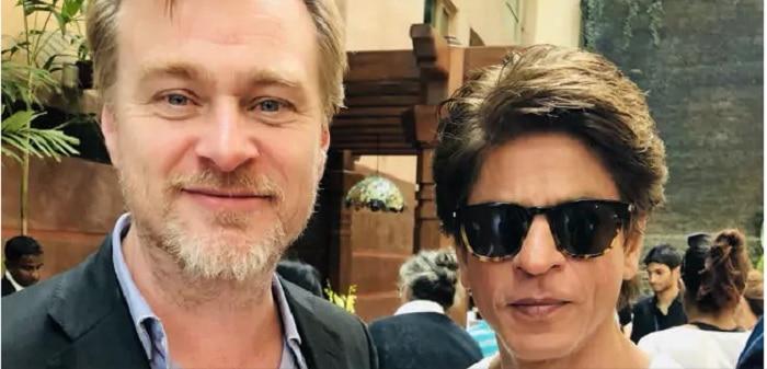 Shah Rukh Khan Has A Fan Boy Moment On Meeting Dunkirk Director Christopher Nolan