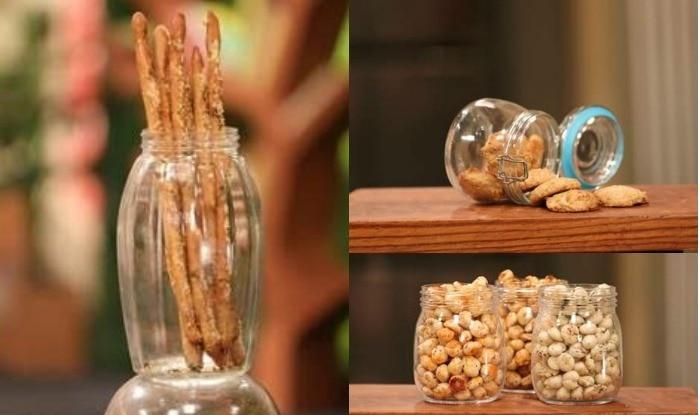 Recipes For Working Women: How to Make Chimichurri Grissini Breadsticks, Flavored Makhana and Banana Oatmeal Cookies