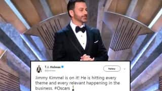 Oscars 2018: Jimmy Kimmel Starts Off The Award Show With A Monologue, Draws Mixed Reactions On Twitter