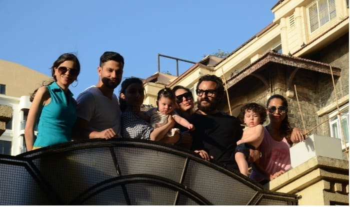Taimur Ali Khan And Inaaya Naumi Kemmu Soak Up Some Sun With Kareena Kapoor Khan, Saif, Soha, Kunal Kemmu And Amrita Arora For Company (PICS)