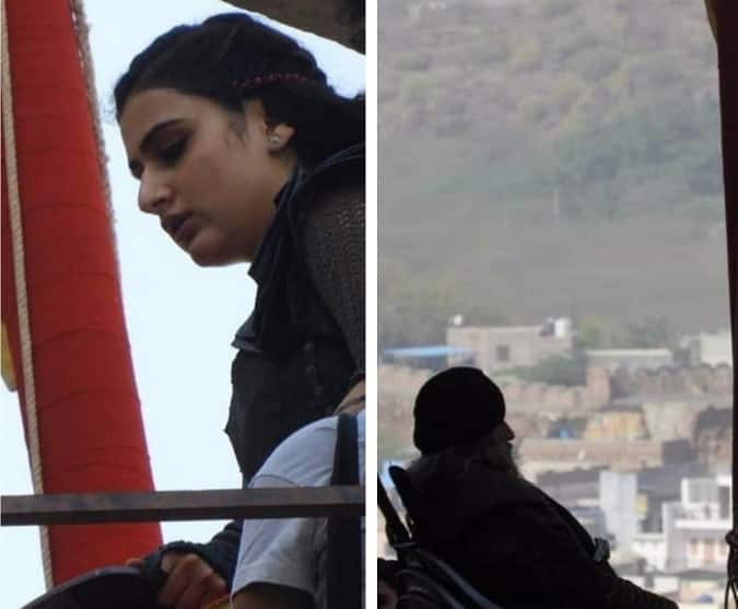 Amitabh Bachchan And Fatima Sana Sheikh's Pictures From Thugs Of Hindostan Get Leaked