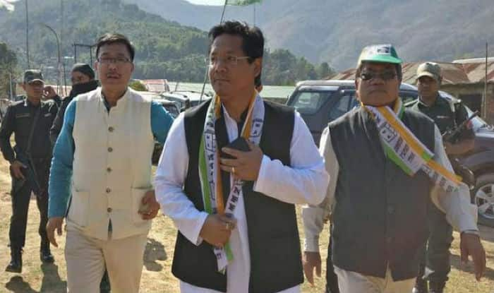 Meghalaya Chief Minister Conrad K Sangma