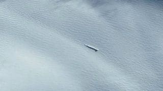 Alien Hunters Spot Crashed UFO in Google Earth Images of Antarctica (Video)