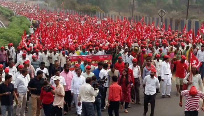 After Maharashtra, Farmers' Association Plans Long March in Delhi Over Agrarian Crisis