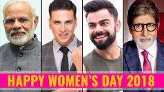 Happy Women's Day 2018: Virat Kohli, Narendra Modi, Akshay Kumar, Amitabh Bachchan and Twitterati Extend Wishes and Shares Names of Women Who Inspire Them