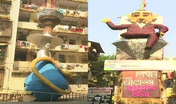 From Nirav Modi to a Giant Hookah, Here's How Mumbai Is Celebrating Holika Dahan Differently