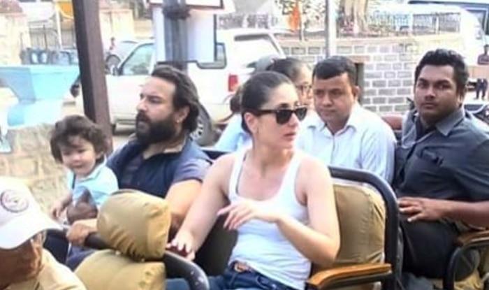 Taimur Ali Khan Enjoys A Jeep Ride In Rajasthan With Kareena Kapoor Khan And Saif – See Pic