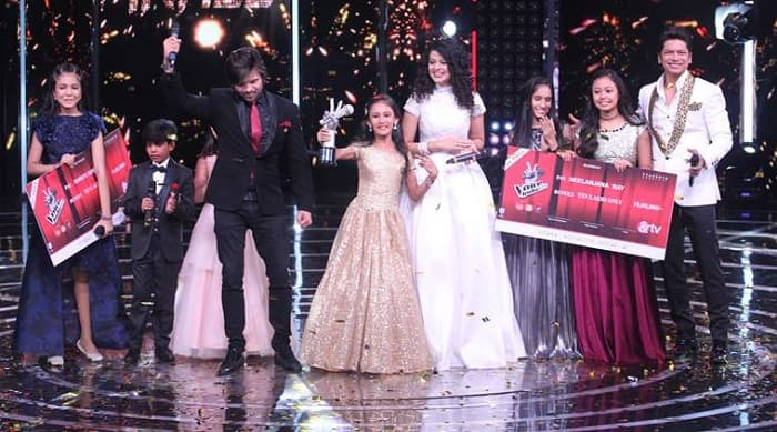 Assamese Girl Manashi Sahariah Emerges As The Winner Of The Voice India Kids 2