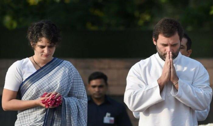 Rajiv Gandhi Death Anniversary: Sonia, Rahul and Priyanka Pay Floral Tribute to Former PM at Vir Bhumi Memorial