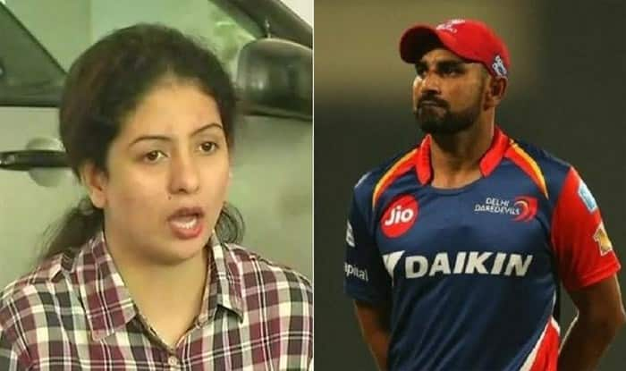 File picture of Md. Shami and Hasin Jahan