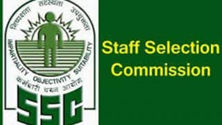 SSCStenographer Group C, D 2019: Application Portal Closes Tomorrow, Check at ssc.nic.in