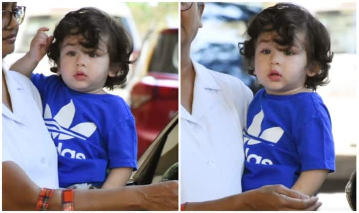 Taimur Ali Khan Looks Cute As A Button In His Latest Pictures
