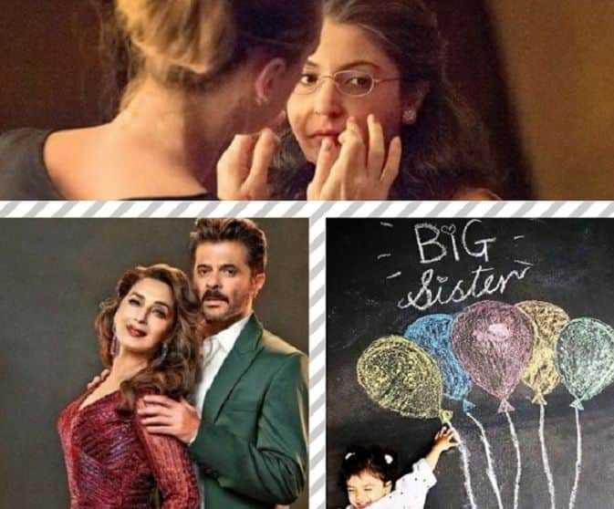 Anushka Sharma's Old Lady Avatar, Madhuri Dixit-Anil Kapoor's First Look From Total Dhamaal, Shahid Kapoor-Mira Rajput's Post Announcing Big News Feature In This Week's Viral Pictures