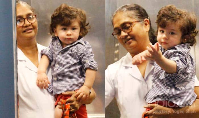 Taimur Ali Khan Looks Adorable In A Messy Hairdo And We Cannot Get Over His Cuteness – See Pics