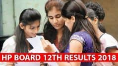 HPBOSE Results 2018: HP Board Class 12 Result Declared, Check Your Scores at hpbose.org