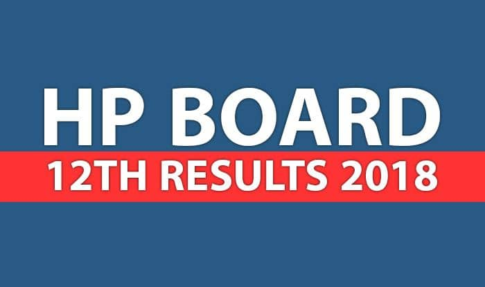 HP Board 12th Results 2018