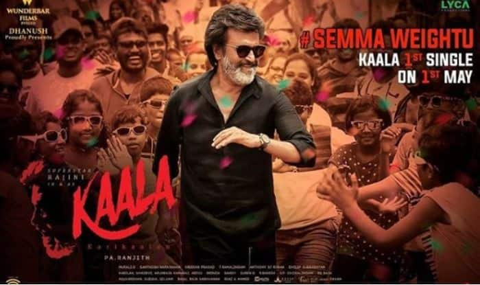 Kaala First Song Semma Weightu: Dhanush Plans A Surprise For Rajinikanth Fans On May Day