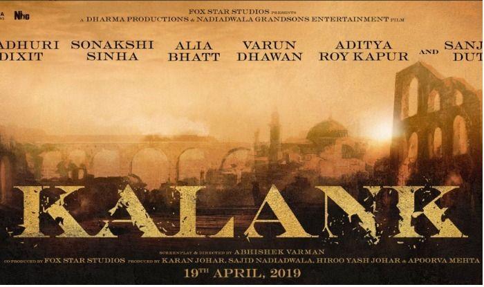 Kalank: All You Need To Know About This Sanjay Dutt, Madhuri Dixit, Alia Bhatt, Varun Dhawan, Sonakshi Sinha, Aditya Roy Kapur Starrer