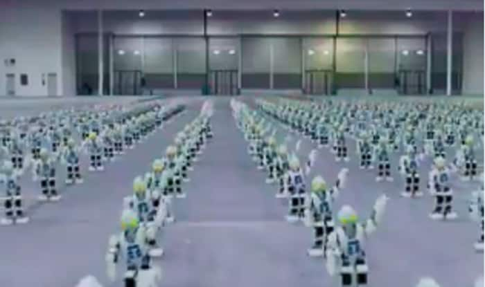 Over 1300 Robots Dance Together In Italy To Break Guinness World Record, Watch Video