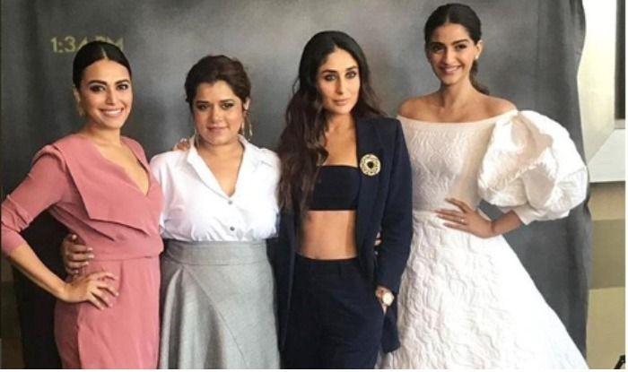Veere Di Wedding Trailer.Veere Di Wedding Trailer Launch Sonam Kapoor Talks About Her