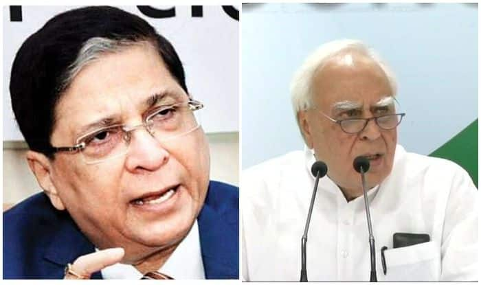 Impeachment Motion Against CJI Dipak Misra Rejected: BJP, Congress Indulge in War of Words – Here's Who Said What