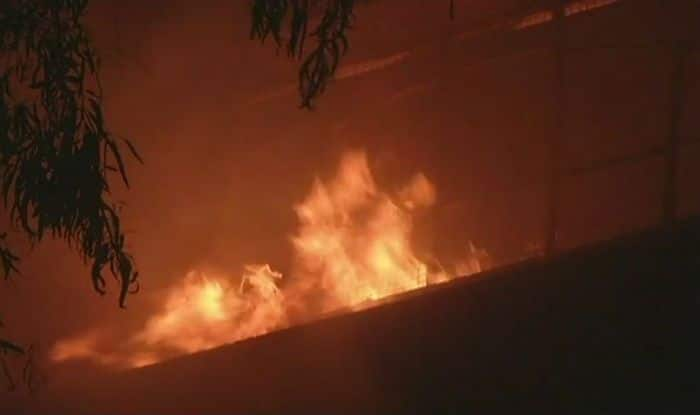 Mumbai: Fire Breaks Out at Electronic Shop Near Kadar Palace, no Casualties Reported