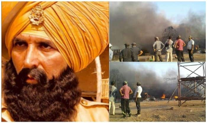 Fire Breaks Out On The Sets Of The Akshay Kumar-Parineeti Chopra Starrer, Kesari