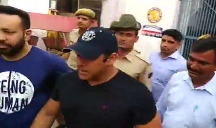 Black Buck Poaching Case: Salman Khan Files Plea Seeking Court Permission to Travel to Four Countries