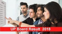 UP Board Result 2018: Fatehpur's Rajnish Shukla Top Class 12 With 93.20%; Passing Percentage of UP Board Intermediate Stands at 72.43