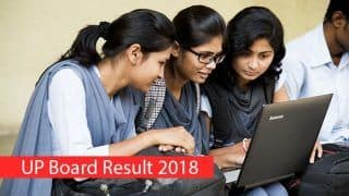UP Board Class 12 Result 2018 Declared at upresults.nic.in, Rajni Shukla From Fatehpur Tops With 93.20%