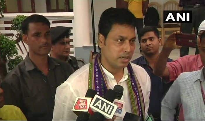 Tripura Chief Minister Biplab Deb Clarifies His Statement on Mechanical Engineers