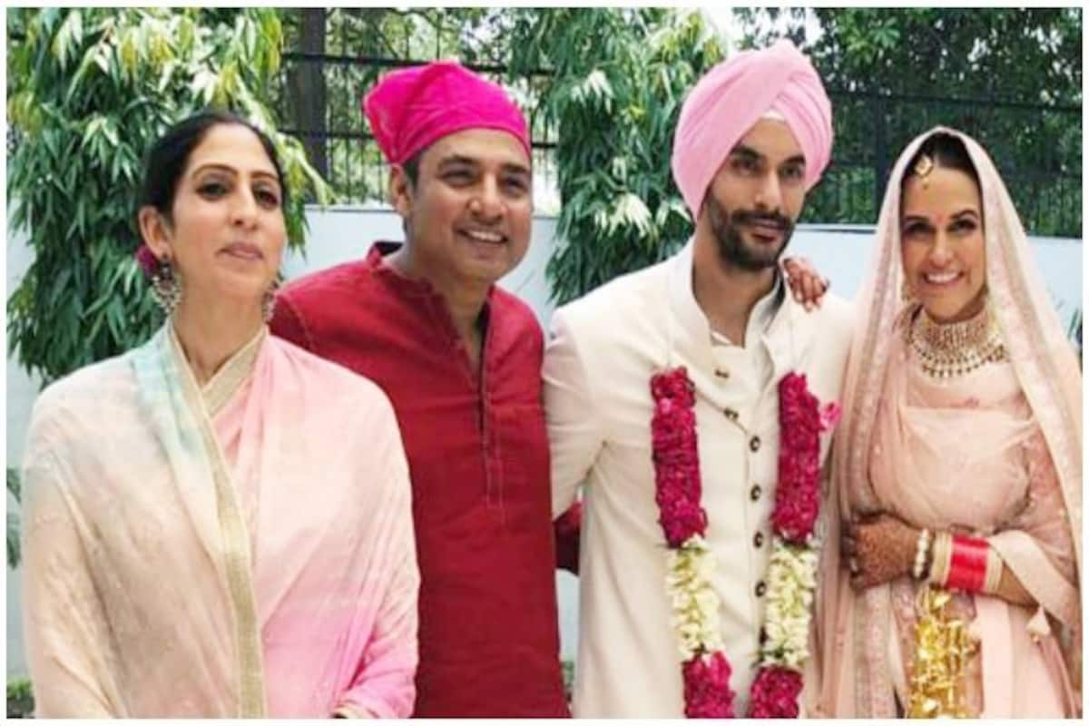 Ajay Jadeja Ashish Nehra Gaurav Kapoor Attend Neha Dhupia And Angad Bedi S Wedding See Pics India Com