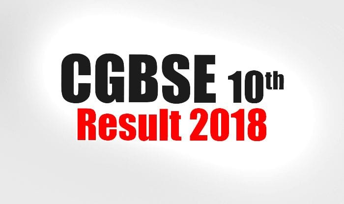 CGBSE 10th, 12th Result 2018