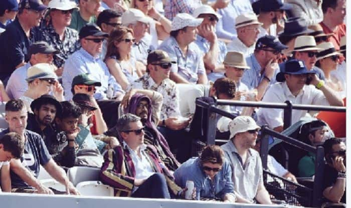 Irrfan Khan Spotted Watching England vs Pakistan Test Match at Lords – View Pic