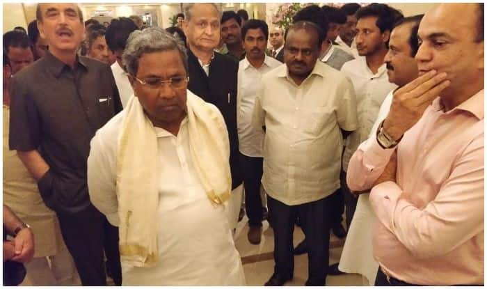 Congress Struggles to Keep Flock Together in Karnataka, Rushes Ghulam Nabi, Venugopal For Damage Control