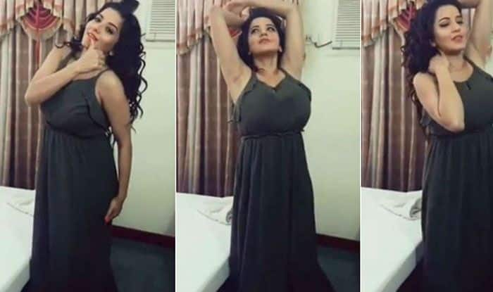 Bhojpuri Actress Monalisa Aka Jhuma Boudi is Breaking The Internet With Her Sexy Jumpsuit Picture